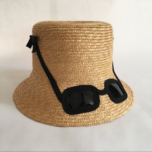 kate spade new york Accessories - kate spade new york straw sunglasses hat 2be52b6d8e4